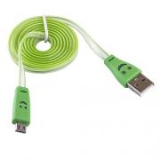 USB кабель Blast BMC-511 Green 1м