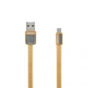 Кабель передачи данных Remax micro USB RC-044m Platinum cable gold
