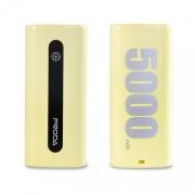 Внешний аккумулятор Remax Proda E5 5000 mAh Yellow