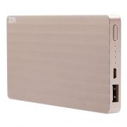 Внешний аккумулятор Xiaomi Mi Power Bank ZMI 10000 mAh golden