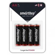 Батарейки Smartbuy LR6 (AA) 4шт в блистере