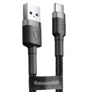 Кабель Baseus Cafule USB Tupe-C Black 1m