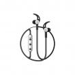 Беспроводные наушники Baseus Bluetooth Licolor Magnetic B11 black