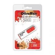 USB флэш-накопитель OltraMax 250 8GB Red