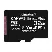 Карта памяти MicroSD 32GB Kingston Class 10 Canvas Select Plus A1 (100 Mb/s)