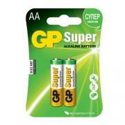 Батарейки GP LR6 (AA) 2шт в блистере
