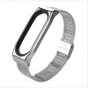Браслет Milanese strap для Xiaomi mi Band 3/4 silver