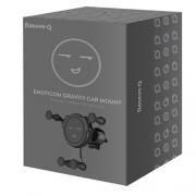 Автомобильный держатель Baseus Q Emoticon Gravity Car Mount black