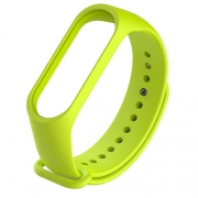 Ремешок для Xiaomi Mi Band 3 lime green