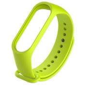 Ремешок для Xiaomi Mi Band 3 lime green