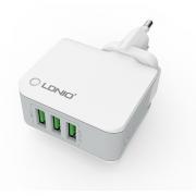 Зарядное устройство Ldnio 3 USB 3.4А (A3303)