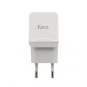 Зарядное устройство Hoco C33A 2 USB 2.4 A white