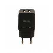 Зарядное устройство Hoco C33A 2 USB 2.4 A black