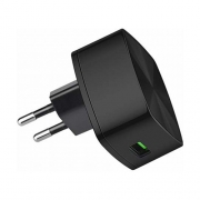 Сетевое зарядное устройство Hoco C26 Mighty Power QC3.0 Single-Port Charger black