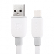 Кабель Baseus Tough Series 2A Type-C - USB 1м white