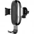 Автомобильный держатель с беспроводной зарядкой Baseus Wireless Charger Gravity Car Mount (Air Outlet Version) black