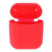 Чехол силиконовый For Airpods red