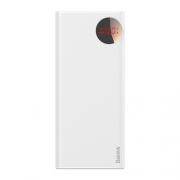 Аккумулятор Baseus Mulight Power Bank PD3.0+QC3.0 30000 mAh white