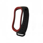 Ремешок для Xiaomi Mi Band 3 black/red