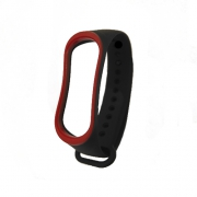Ремешок для Xiaomi Mi Band 3 black/red