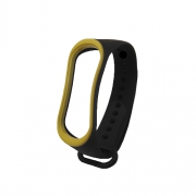 Ремешок для Xiaomi Mi Band 3 black/yellow