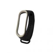 Ремешок для Xiaomi Mi Band 3 black/white