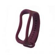 Ремешок для Xiaomi mi Band 3 рифленый purple