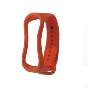 Ремешок для Xiaomi mi Band 3 рифленый orange