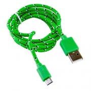 USB кабель Blast BMC-112 Green 1м
