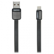 Кабель для iPhone Remax Lightning to USB RC044i Platinum cable 1.0м black