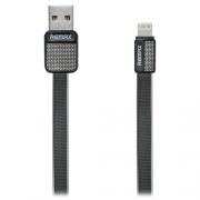 Кабель для iPhone Remax Lightning to USB RC044i Platinum cable 1.0м black