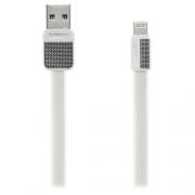 Кабель для iPhone Remax Lightning to USB RC044i Platinum cable 1.0м white