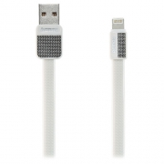Кабель для iPhone Remax Lightning to USB RC044i Platinum cable 1.0м white