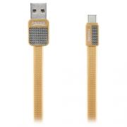 Кабель передачи данных Remax Type-C - USB RC-044a Platinum cable gold