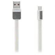 Кабель передачи данных Remax Type-C - USB RC-044a Platinum cable white