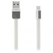 Кабель передачи данных Remax Type-C - USB RC-044a Platinum cable white