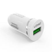 Автомобильное зарядное устройство Ldnio 2.1А + Micro USB кабель (DL-C12) white