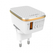 Зарядное устройство Ldnio Quick Charge 1 USB 2.4A + micro USB кабель
