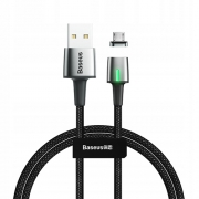 Кабель Baseus Zinc Magnetic Cable micro 1m black