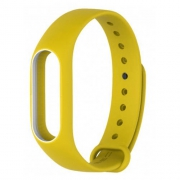 Ремешок для Xiaomi Mi Band 2 желтый