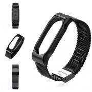Ремешок Mijobs Milanese strap для Xiaomi mi Band 2 black