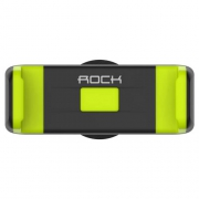 Держатель Rock Deluxe Vent Edition Car Holder black/green