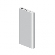 Аккумулятор Xiaomi Mi Power Bank 3 (2019) 10000mAh PLM13ZM silver