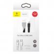 Кабель Baseus Tough Series 2A Micro USB - USB 1м black