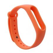 Ремешок для Xiaomi Mi Band 2 оранжевый